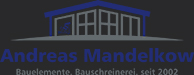 Bauelemente Andreas Mandelkow Logo